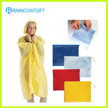 Customized Clear PVC Raincoat for Women Rvc-040A