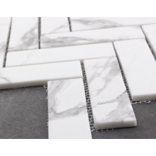 Impression de mosaïque de marbre pour la décoration murale