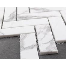 Impressão de mosaico de mármore para decoração de parede