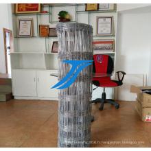 Fil de fer d'escrime de ferme de cerf galvanisé bon marché à vendre