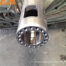 Bimetallic micro barrels for extruders