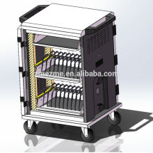 ZMEZME new design ipad/tablet charging trolley charging cabinet sync charger