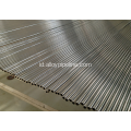 ASTM A269 19.05mm 2.11mm BA Tabung Stainless Steel