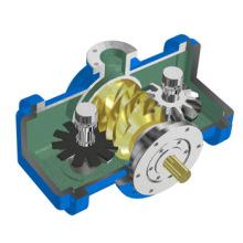 Compresseur d'air à vis unique sans huile certifié CE (110KW, 10bar)