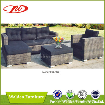 Round Rattan Outdoor Sofa Set (DH-866)