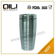 vaso de doble pared de acero inoxidable 450ml
