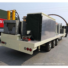 Building curve panel mobile steel curved roof roll forming machine