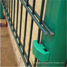 Powder Coating Double Wire Welded Fence