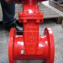 Válvula de compuerta UL / FM 250PSI