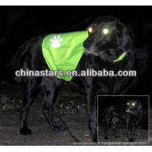 EN471 / ANSI vêtements pour animaux réfléchissants
