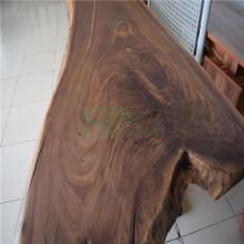 Hölzerne Tischplatte aus durch amerikanische Schwarznuss Vollpappe