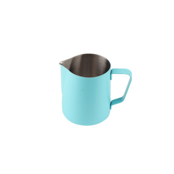 NewDesign Food GradeStainless Steel Sky Blue Milchkanne