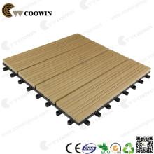 Carrelage de plafond en bois imperméable à l'eau amovible