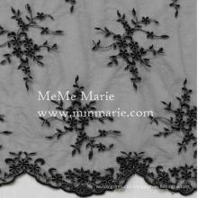 Embroidery Blace color allover Lace Tulle Curtain Fabric French Lace Fabric 52'' No.CA261