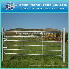 Горячая конструкция сбывания фермы ворота оцинкованные дешевая Загородка фермы / фермы электрический забор