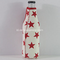 Desain Bintang Tahan Air Insulated Neoprene Beer Coolers