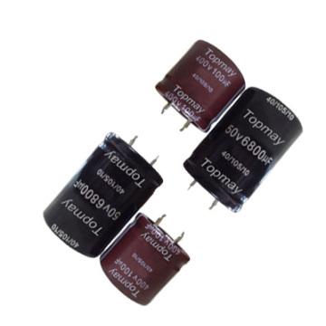 Snap in Aluminum Electrolytic Capacitor 105c Tmce18-11