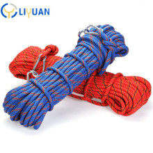 Outdoor Rescue Safety Climbing Static Nylon Ropes