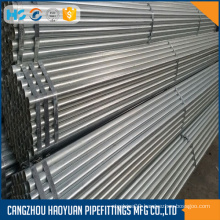 MS ERW SCH80 GALVANIZED STEEL GREENHOUSE PIPE