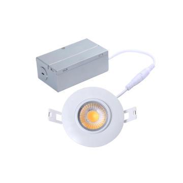 AC110V 120V 8W 700lm diodo emissor de luz da suspensão Cardan de Dimmable de 3 polegadas