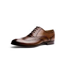 Chaussure basse en cuir véritable
