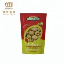 Guangzhou Laminate Material Small Food Grade Stand Up Zipper Custom Printed Corn Seed Plastic Packing Bag