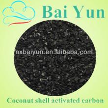 Carga de coco ativada em carcaça de coco de 8-30 gramas