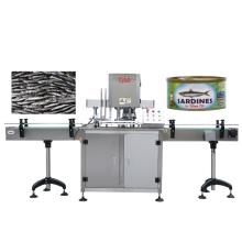 Ligne de traitement semi-automatique de fruits de mer de pot de veste