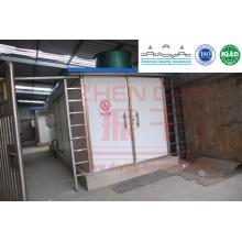 Secador de túnel de circulación de aire caliente para piezas de tomate
