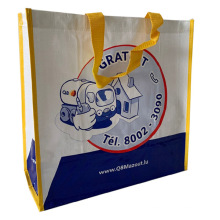 China Wholesale customized durable woven polypropylene tote bag