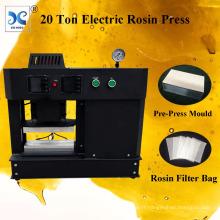 Plates-formes de chauffage à double pression électrique 20 tonnes Rosin Press