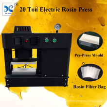 20 Ton Electric Rosin Dab Dual Heating Plates Rosin Press