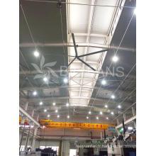 Grand ventilateur industriel d'équipement de ventilation d'alliage d'aluminium de 7.4m / 24.3FT