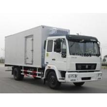 Sinotruk 4X2 Рекламный грузовик для перевозки продуктов питания и фруктов