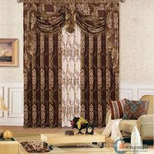 2013 hot sale new elegant lux rideaux de conception européenne pour les britanniques
