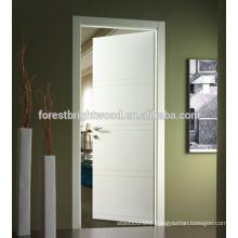 European Style White Modern Design Flush Semi Solid Door