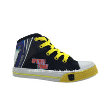 Cool Cartoon High Ankle Children Shoes Sneaker (X167-S&B)