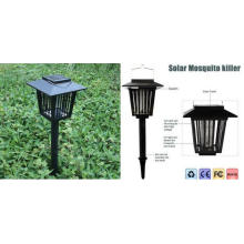 Solar LED Garden Lamp Lámpara insecto Zapper Killer Bug Mosquito Repelente