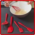 Ustensiles de cuisson résistant à la chaleur Set Set d'outils de cuisson
