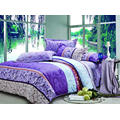100% Cotton Pigment Printed Bed Sheet Set /quilt Cover Set