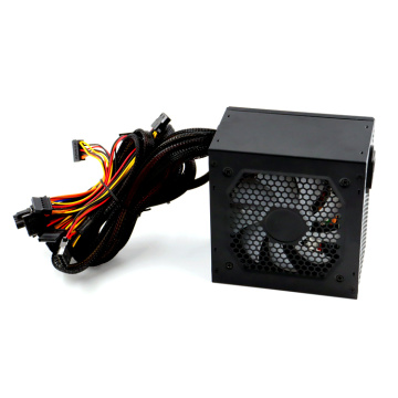 Black Atx Power Supply 250W para computadora de escritorio