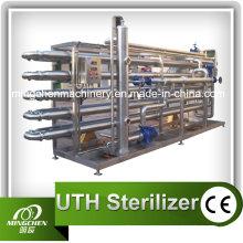 Fruchtsaft / grüner Tee Röhrensterilisator CE