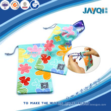 professional eyeglasses pouch with fower printed