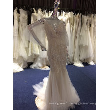 Neue Ankunfts-2017 Nixe-Hochzeits-Kleid mit empfindlicher Spitze