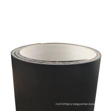 Black PVC conveyor belt