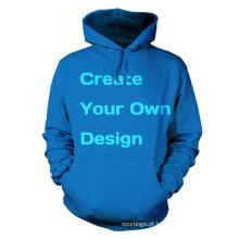 China wholesalae preço barato dor cor hoodies moletons esportes hoodie