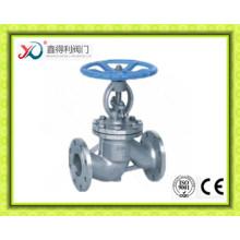 DIN Carbon Steel WCB/GS-C25/GP240GH/1.0619 Flange Globe Valve