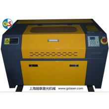 Fábrica de fornecimento de CO2 tubo de vidro mini máquina de gravura a laser (GS7050) com alta velocidade de corte