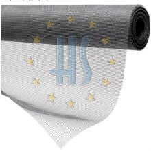 Pantalla de ventana de malla de fibra de vidrio color gris 18X16