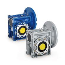 Speed reducer NMRV50 worm gear reduction box aluminium worm reducer for conveyor